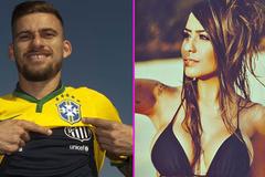 """Em gái """"phản bội"""" Neymar, yêu tân binh Real Madrid"""