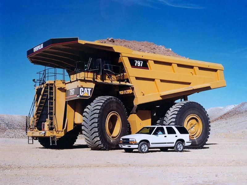 """10 xe tải """"khủng"""" nhất thế giới"""