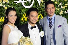 Lễ cưới ấm cúng của vợ chồng Trang Nhung giữa giá rét Hà Nội