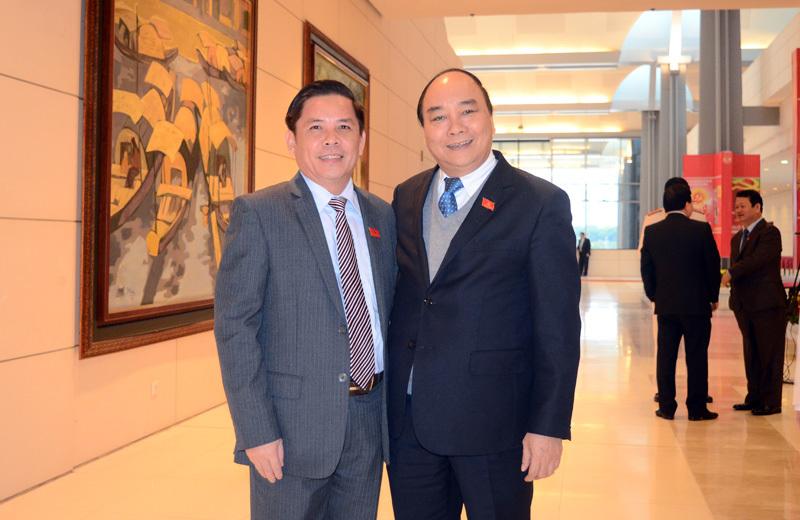 nhân sự Đại hội 12, ông Nguyễn Xuân Phúc làm Thủ tướng. Tổng Bí thư Nguyễn Phú Trọng