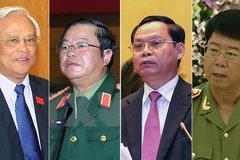 Giới thiệu 4 ủy viên trung ương 'đặc biệt' tái cử