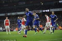 """Chơi hơn người, Chelsea thắng Arsenal kiểu """"xấu xí"""""""