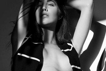 Hoa hậu Quốc tế khoe ngực trần gợi cảm đầy thách thức