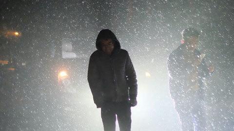 Tuyết rơi tại Sa Pa