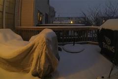 Xem bão tuyết kinh hoàng trong video 98 giây