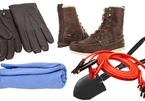 10 vật dụng cần thiết trên ôtô vào mùa đông