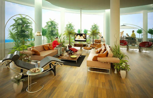 tăng sinh khí cho nhà