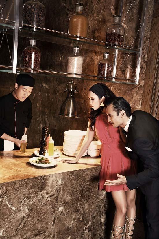 Hà Anh, Sống Trong Thế Giới Đàn Ông, siêu mẫu Hà Anh