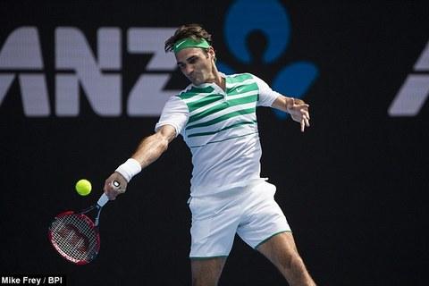 Clip Roger Federer 3-0 Tomas Berdych