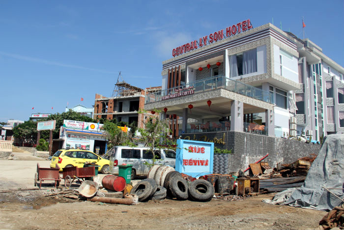 Rộ mốt xây nhà nghỉ ở Lý Sơn