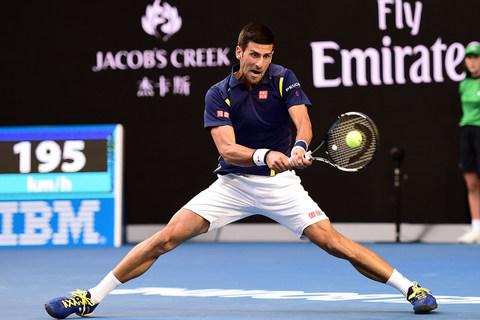 TK Australia Open: Djokovic 3-0 Nishikori