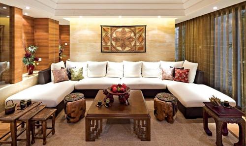 20160127140028 image005 Ngắm nhìn mê mẩn với những phòng khách đậm chất Á Đông