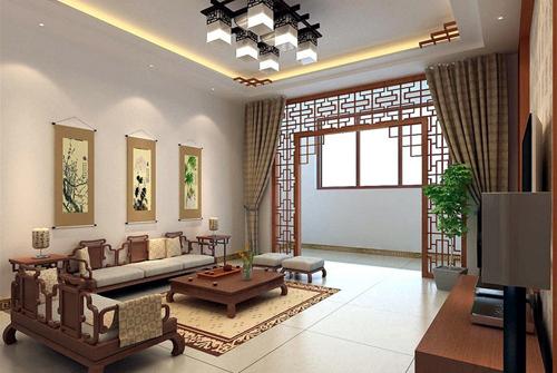 20160127140028 image008 Ngắm nhìn mê mẩn với những phòng khách đậm chất Á Đông