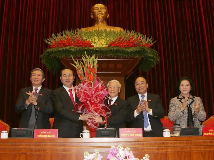 Đại hội Đảng 12, Ban chấp hành trung ương khóa 12, tổng bí thư nguyễn phú trọng