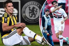 Chelsea gây sốc khi định chiêu mộ Van Persie