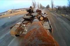 Dùng nòng pháo xe tăng làm gậy 'tự sướng'