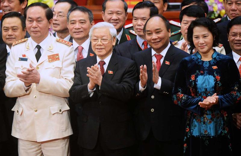 Đại hội Đảng 12, Tổng bí thư Nguyễn Phú Trọng, Bộ Chính trị, Bộ Chính trị khóa 12,Ban chấp hành trung ương khóa 12,Ban chấp hành Trung ương