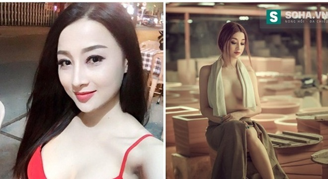 'Cô gái làng gốm' gây chú ý vì hình ảnh bán nude