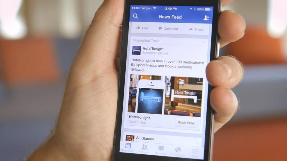 Facebook kiếm hơn 13 tỉ USD từ quảng cáo trên di động