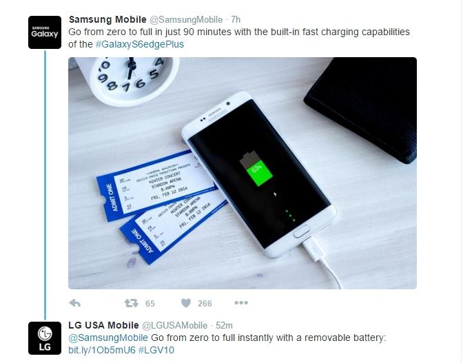 LG đá xéo Samsung không thương tiếc