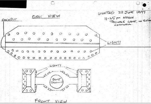 CIA tiết lộ tài liệu về các đĩa bay bí hiểm