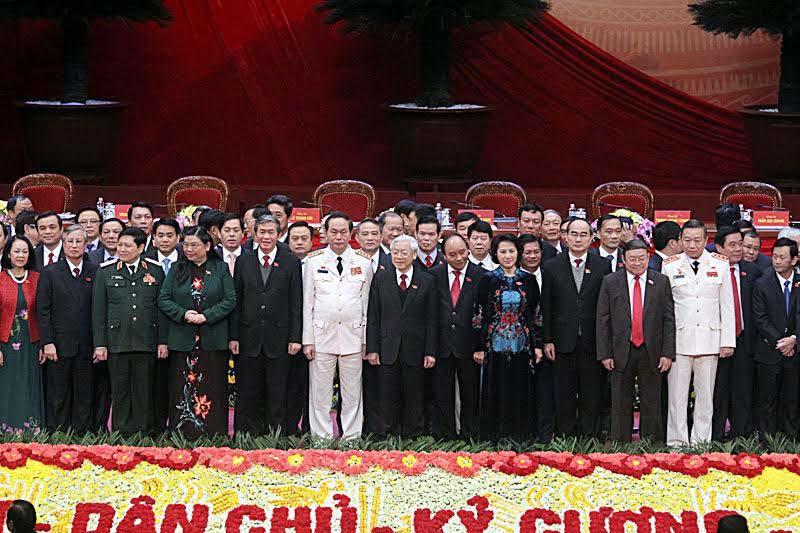 Đại hội Đảng 12, lãnh đạo khóa mới