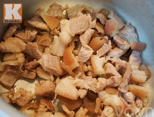 thịt đông, cách nấu món thịt đông, món ngon ăn tết,