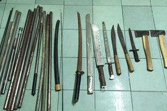 Phát hiện cả kho súng đạn của giang hồ Hải Phòng ở Sài Gòn