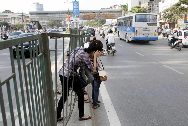 Lượn bộ 'khó đỡ' trên phố Thủ đô