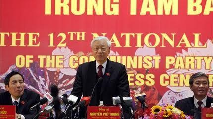 Tổng Bí thư, Đại hội Đảng XII, Ấn tượng trong tuần, Kỳ Duyên, nhà báo Kim Dung, Chính phủ