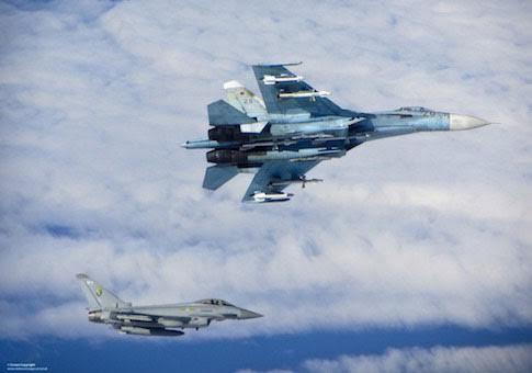 Mỹ tố chiến đấu cơ Nga bay nguy hiểm