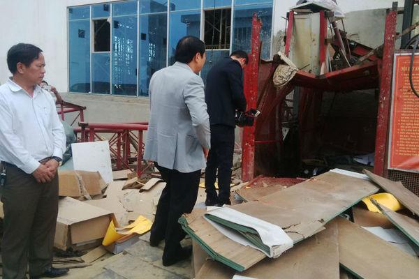 Đà Nẵng thông tin vụ tai nạn lao động 5 người tử vong