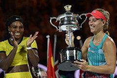 Kerber gây địa chấn, đăng quang Australian Open
