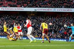 FA Cup: Arsenal 2-1 Burnley