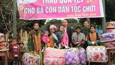 Báo VietNamNet trao quà Tết cho đồng bào dân tộc Chứt