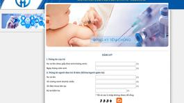 Hà Nội tổ chức tiêm vắc xin dịch vụ đợt 2