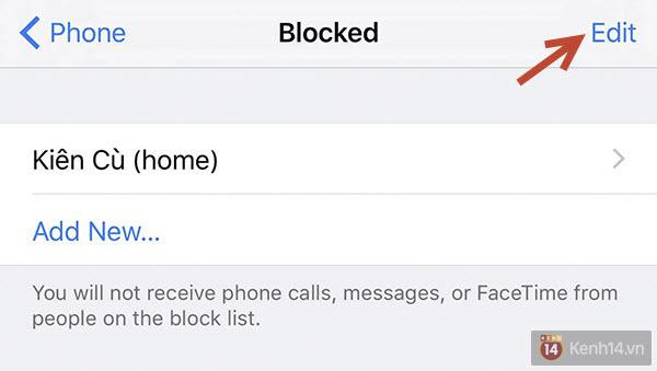 Chặn tin nhắn, cuộc gọi quấy rối trên iPhone cực đơn giản