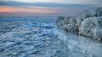 Vẻ đẹp sững sờ khi biển đóng băng