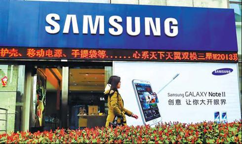 Samsung văng khỏi top 5 hãng smartphone tại Trung Quốc