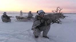 Xem lính Nga tập chiến đấu giữa cái lạnh -30°C