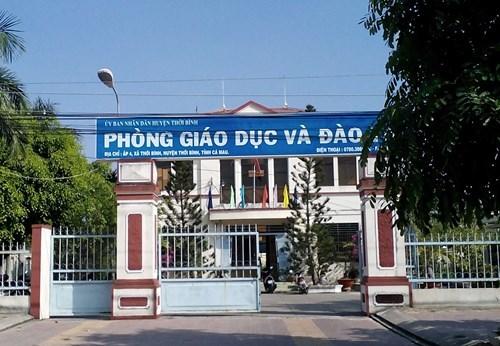 Cà Mau, giáo viên, nợ lương giáo viên, loay hoay trả nợ giáo viên, Phòng GD-ĐT huyện Thới Bình
