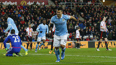 Highlights: Sunderland 0-1 Man City