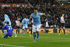 Highlights: Sunderland 0-1 Man City
