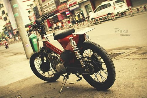 Lặng người ngắm Super Cub độ cực chất của biker Việt