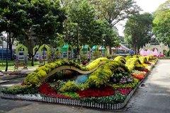 Hội hoa xuân Tao Đàn trước giờ khai mạc