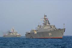 Tàu hộ vệ tên lửa VN tham gia lễ duyệt binh quốc tế