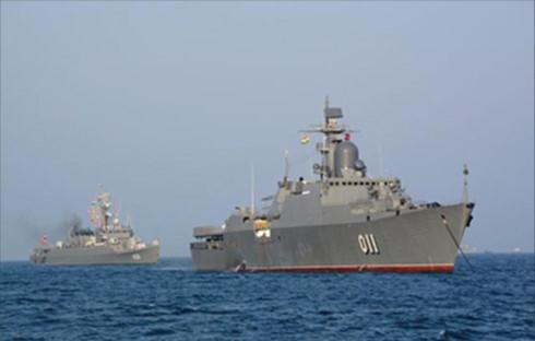 tàu hộ vệ tên lửa, tàu Đinh Tiên Hoàng, duyệt binh quốc tế, hải quân