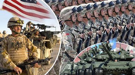 Những nước có quân đội lớn nhất thế giới