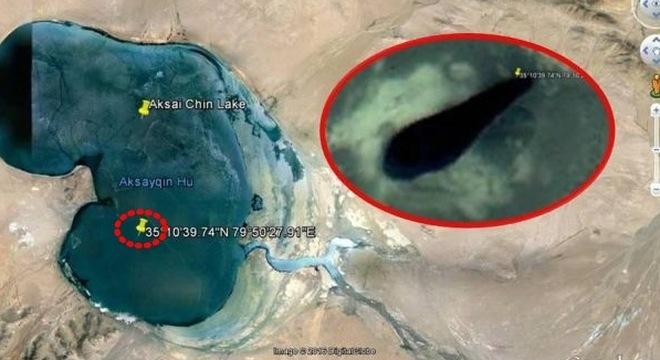 Google bôi đen căn cứ bí ẩn trên dãy Himalaya để giấu UFO?