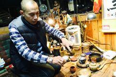 Thú thưởng trà ngàn đô của 'Vua lan Hà Thành'